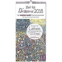 Zeit für Träume 2018: Der Gustav-Klimt-Postkartenkalender