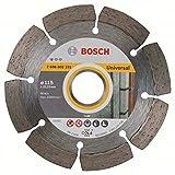 Bosch 2 608 602 191 - Disco tronzador de diamante Standard for Universal (115 x 22,23 x 1,6 x 10 mm)