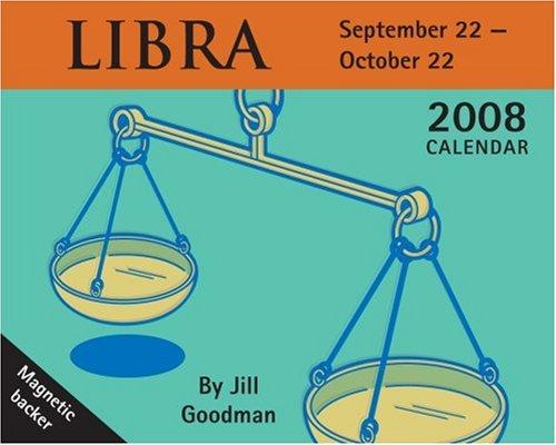 Libra 2008 Calendar: September 22 - October 22