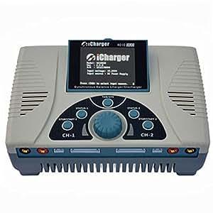 AkkuShop Junsi iCharger 4010 Duo 10S Chargeur USB NiMH/NiCd/Li-Ion/LiPo/LiFe/Pb