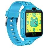 AGPTEK Montre Connectée Enfant Smartwatch Etanche Ecran Tactile de 1,44 Pouces avec Caméra, Appel,...