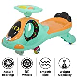 Fun N Joy Toddler's Twist and Swing Magic Car with LED Lights, Musical