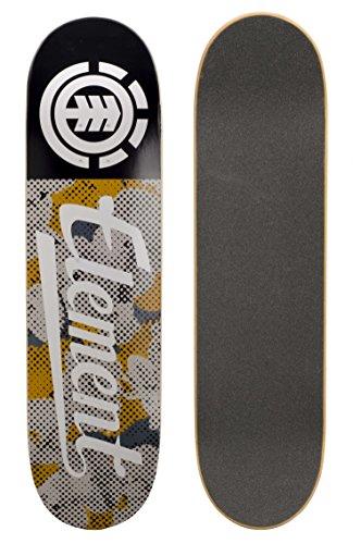 element-skateboard-deck-only-us-script-pop-camo-size-one-size-size82