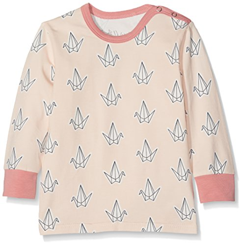 Fred's World by Green Cotton Mädchen T-Shirt Bird T Baby Rosa (Rose 014130901) 92