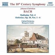 Bach, J.C.: Sinfonias, Vol. 4