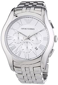 Emporio Armani Herren-Armbanduhr XL Chronograph Quarz Edelstahl AR1702