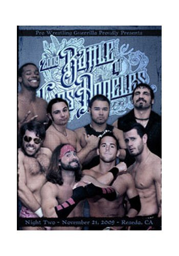 Official Pro Wrestling Guerrilla PWG - Battle of Los Angeles BOLA Night 2 2009 Event DVD