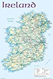 Close Up Ireland Map Poster Karte von Irland (61cm x 91,5cm)