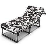 Sessel ZR- Lounge Chair, Klappbett, Camouflage Einzelner Lazy Chair, Büro-Nap-Camp-Bett,...