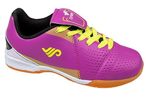 GIBRA® Kinder Sportschuhe, für die Turnhalle, pink, Gr. 31-36 Pink