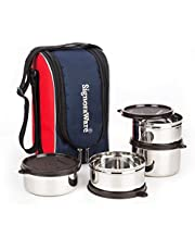 Signoraware Executive Max Fresh Stainless Steel Lunch Box Set