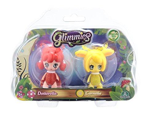 Glimmies Mini Bambola, Blister Doppio, Dotterella e Cornélie