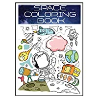 Space Coloring book: for kids, Outer Space Adventures Coloring book with Planets, Space Ships, Rockets, Astronaut and Extraterrestrial stars (Children