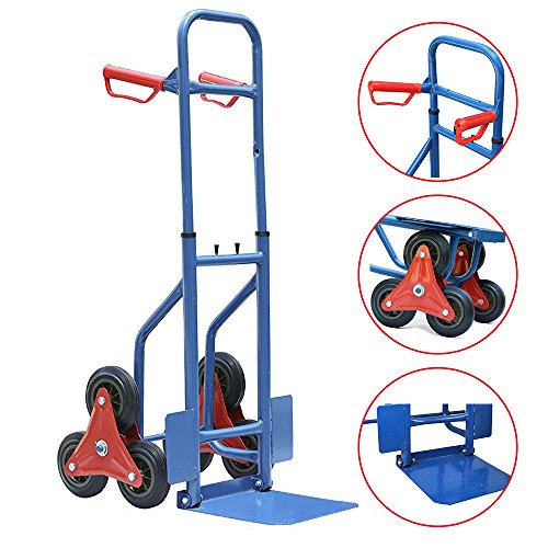 max-load-200kg-transport-stair-climber-cart-steel-frame-rubber-wheels-rubber-handles