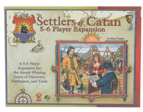 Settlers of Catan 5 & 6 Player [englischsprachige Version]