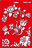 Schablone 20x31cm - Blumenranken