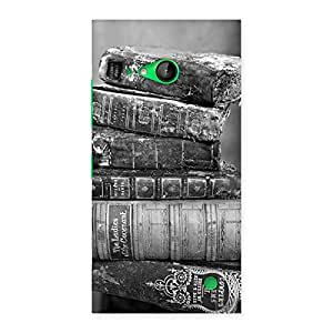 Neo World Rusted Books Back Case Cover for Lumia 730