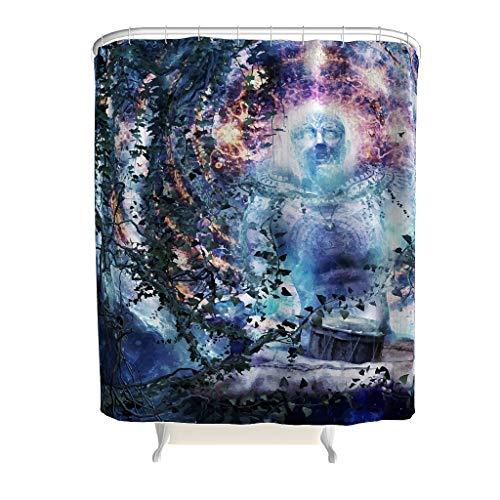 Space Nebula Kostüm - XJJ88 Cameron Gray,Space,Nebula,Universe,Spiritual,Sacred,Geometry Duschvorhang Personalisiert - Nebula Muster Drucken Kein Chemischer Geruch Badewannenvorhang Jahrgang für Badewannenduschen