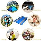 Cido Camping Selbstaufblasbare Doppel Luftmatratze/Matte/Unterlage Automatische Aufblasbare Isomatten mit Kissen -