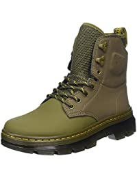 Dr. Martens Unisex-Erwachsene Quinton Mid Olive Ajax+Synthetic Nubuck Stiefel