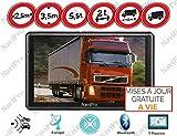 GPS Poids Lourds 9 Pouces (22cm) Camion ET Bus Europe Gratuite A Vie