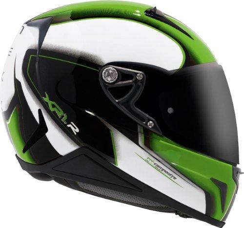 Preisvergleich Produktbild NEXX XR1R MOTION grün dekor XS