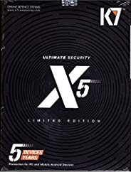 K7 Total Ultimate Security X5 Limited Edition - 5 PC's, 5 Years (Email Delivery in 2 Hours - No