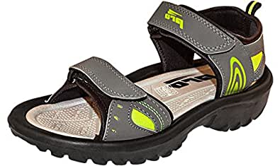 Pro (from Khadims) Men's Grey Synthetic Floater Sandals - 8