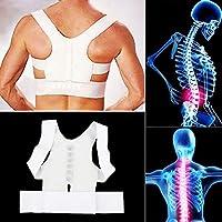RoadRomao Postura magnética Soporte Corrector Cinturón Trasero Brace Dolor de liberación del Hombro