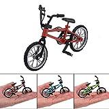 Finger Bike funzionale Nini Mountain Sport Bike in miniatura in metallo del gioco dei giocattoli per i bambini Ragazzi Red 1PC