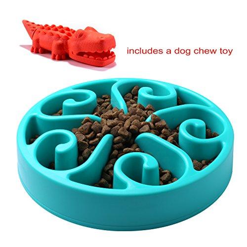 Anti-Schling Napf,Hundespielzeug,WONTECHMI´s lustiger Anti-Schling Napf, Futternapf für Hunde,Trinknapf für Katzen,Intelligenzspielzeug für Tiere,Rutschfest, Weihnachtsgeschenk