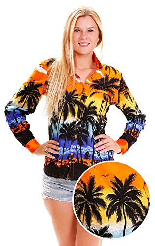 VHO-Camisas-para-mujer-naranja-54