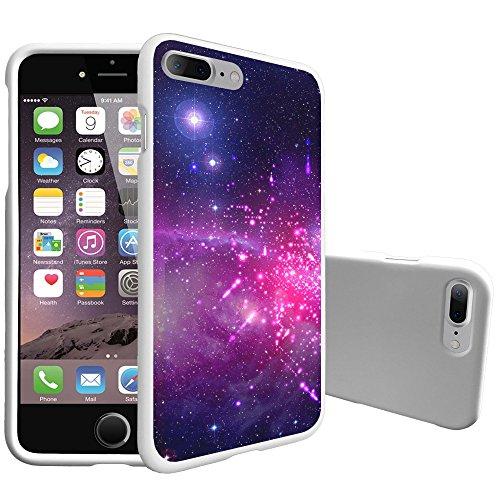 Slim Weiß Fall durch miniturtle Kompatibel mit Phone 7Plus & iPhone 8Plus [Matt Weiß] [2-Teilige Einfache installieren Slim Schutzhülle], Heavenly Stars