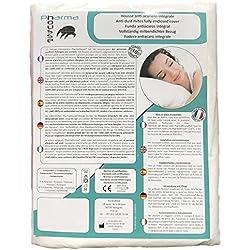 Funda antiácaros integral para almohada - Producto sanitario - Garantía de 10 años - Cubierta protectora sin tratamiento o laminación