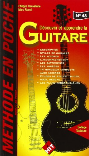 Methode en poche: découvrir et apprendre la guitare (music en poche N°48)