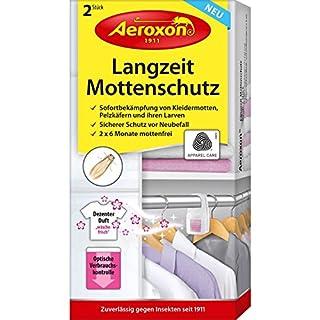 Aeroxon Langzeit-Mottenschutz Sonstige Bedarfsgegenstände, Weiß/Lila, 18x13x4 cm