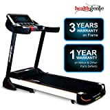 Healthgenie Commercial Motorized Treadmill 4612C (2.0 HP) with Auto Lubrication, Auto Inclination, 2.0