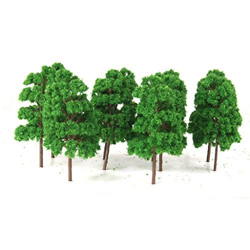 10pcs-model-train-railway-trees-diorama-layout-ho-scale-green