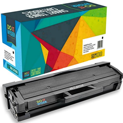 Do it Wiser ® Compatible Toner Cartridge for Samsung MLT-D111S Xpress SL-M2070W SL-M2022W SL-M2020W SL-M2026W SL-M2070FW SL-M2078W SL-M2020 SL-M2022 SL-M2026 SL-M2070 Test