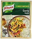 Knorr Feinschmecker Curry Soße, 250 ml, 19er Pack