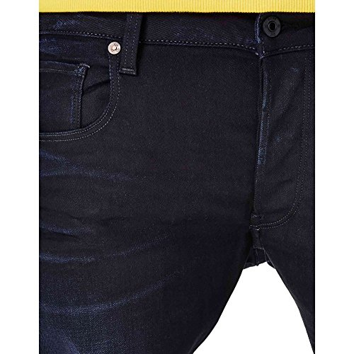 G-STAR Herren 3301 Slim Jeans Blau (Bleu)