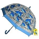 Bugzz Kids Stuff Childrens Umbrella - Shark