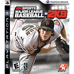 2K Sports Major League Baseball 2K9 (englische Version) – PS3