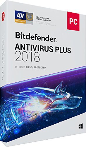 Bitdefender Antivirus Plus 2018 - 1 an - 1 PC