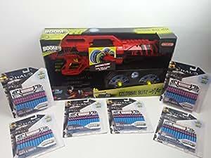 BoomCo Motorized Rapif Fire x72 Darts Colossal Blitz Dart Blaster