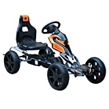 Best Go Karts - HOMCOM Kids Ride On Pedal Go Kart Indoor Review