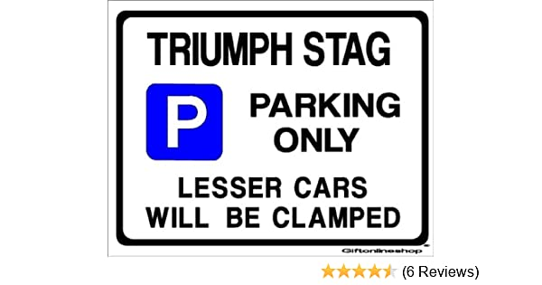 BIG BOSS PARKING SIGN by Custom-Large Size-270mm x 205mm Made in UK