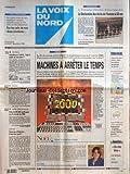 VOIX DU NORD (LA) [No 16942] du 06/12/1998 - LA FIN DU MONDE INFORMATIQUE EST PROGRAMMEE POUR LE 1 JANVIER 2000 - PRES DE 90 000 NAUFRAGES SUR LA BOUEE DU RMI - LA DOYENNE A 110 ANS - MARTHE DENIS - LES SPORTS - FOOT - LA DECLARATION DES DROITS DE L'HOMME A 50 ANS
