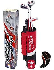 Longridge Rising Star Golfschläger-Set, silberfarben