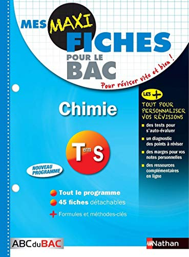 Mes MAXI Fiches Chimie Term S (13)